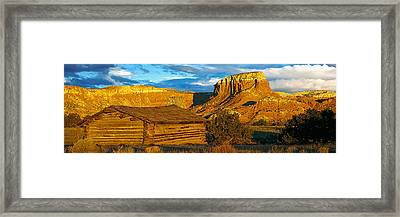 Ghost Ranch At Sunset, Abiquiu, New Framed Print