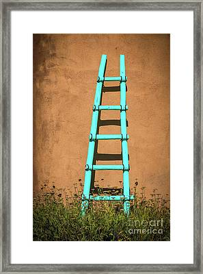 Ghost Ranch Ladder Framed Print
