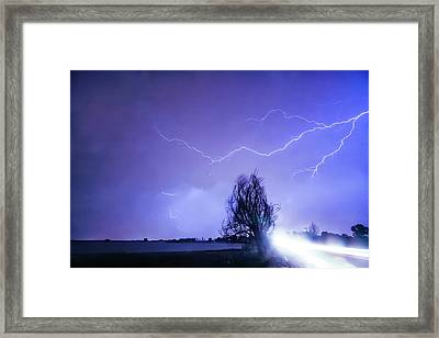 Framed Print featuring the photograph Ghost Rider by James BO Insogna