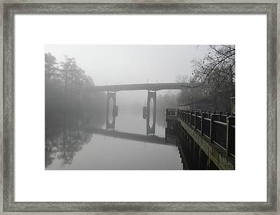 Ghost River Framed Print by Gordon Mooneyhan