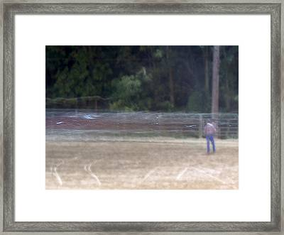Ghost Rodeo Framed Print by Jacob Stempky