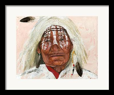 Native Americans Framed Prints