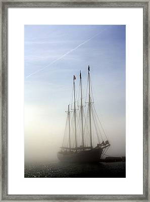 Framed Print featuring the photograph Ghost Ship by Greg DeBeck