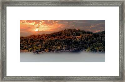 Framed Print featuring the photograph Ghost Ship Of Isla Roatan - Mahogany Bay Shipwreck - Honduras by Jason Politte