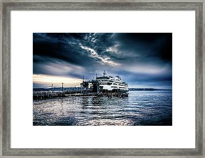 Ghost Ship Framed Print by Spencer McDonald