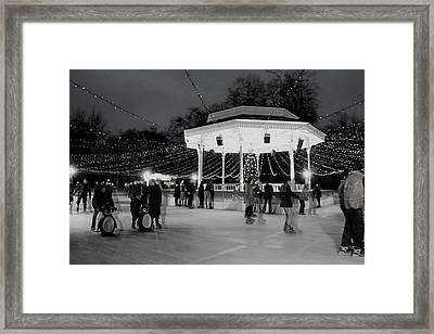 Ghost Skaters Framed Print