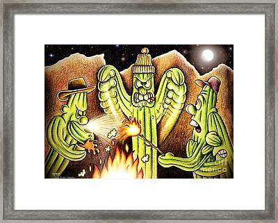 Ghost Story Framed Print by Cristophers Dream Artistry