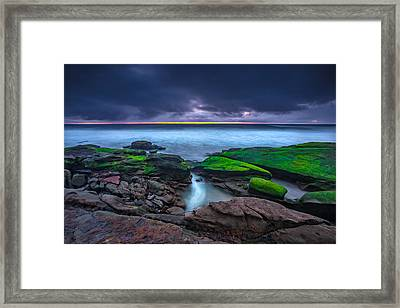 Ghost Tide Framed Print by Peter Tellone