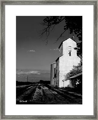 Ghost Town Framed Print by Ed Smith