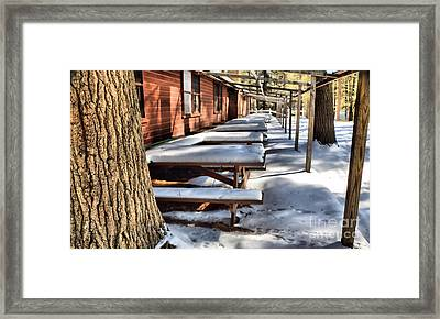 Ghost Town Framed Print by Elizabeth Dow