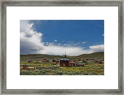 Ghost Town Framed Print by Nathaniel Grant