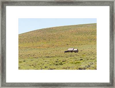 Ghost Town Of Bodie California Dsc4338 Framed Print by Wingsdomain Art and Photography