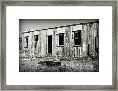 Ghost Town Relic In Cuervo Framed Print