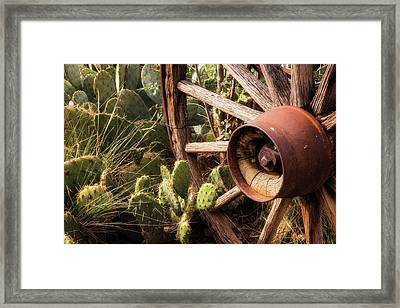 Ghost Town Relic Framed Print