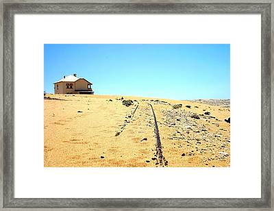 Framed Print featuring the photograph Ghost Town by Riana Van Staden