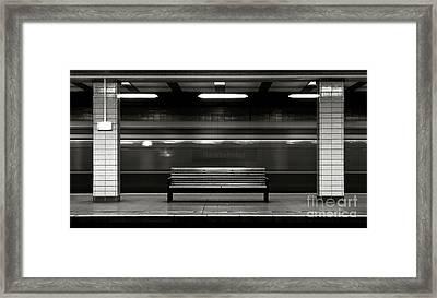 East Berlin Ghost Train Framed Print