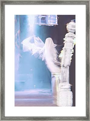 Ghost Framed Print by Viktor Savchenko