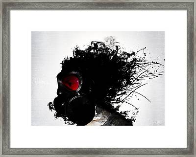 Ghost Warrior Framed Print