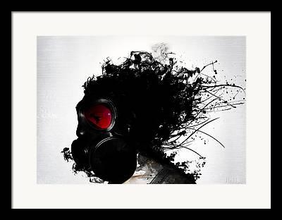 Futuristic Mixed Media Framed Prints