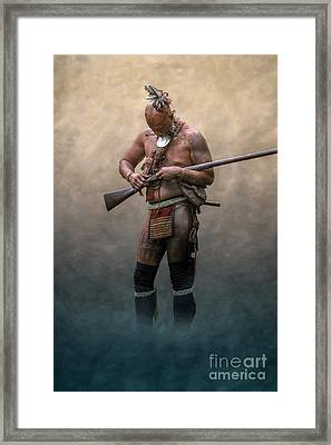 Ghost Warrior  Framed Print by Randy Steele