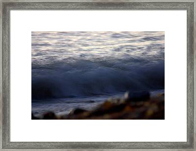 Ghost Wave Framed Print by Brad Scott