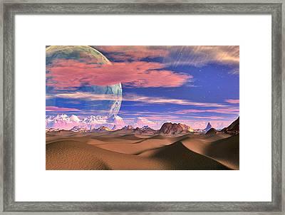 Ghost World Framed Print by David Jackson