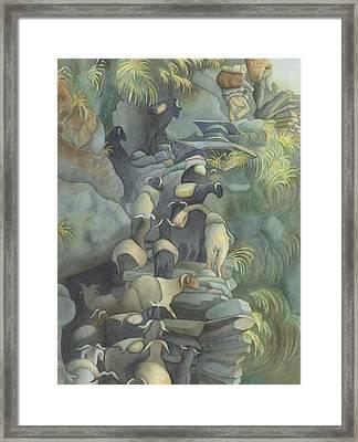 Ghostherd Framed Print by Anne Havard