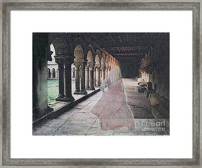 Framed Print featuring the mixed media Ghostly Adventures by Desiree Paquette