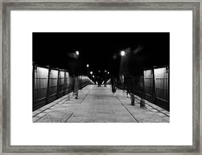 Ghostly Presence Framed Print