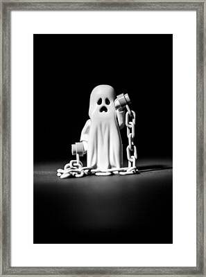 Ghostly Framed Print by Samuel Whitton