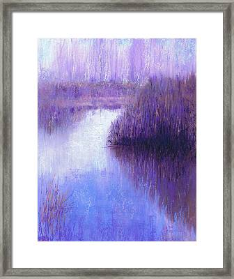 Ghostly Sentinels Framed Print
