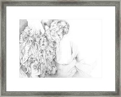 Ghosts Framed Print by Bodhi