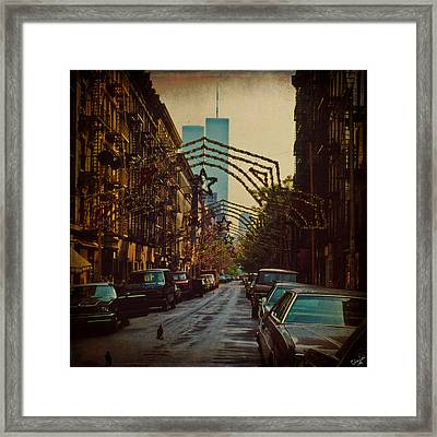 Ghosts Framed Print by Chris Lord