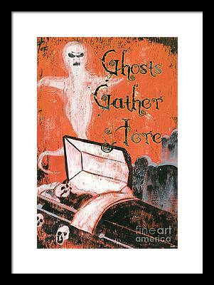 Ghosts Framed Prints