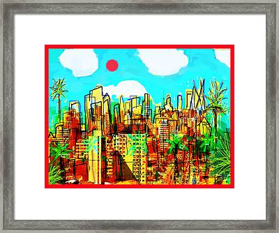 The Edge Of Unknown Lands  Framed Print by Paul Sutcliffe
