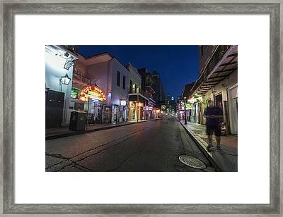 Ghosts Of Bourbon Framed Print