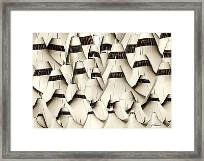 Ghosts Of Dia Framed Print by Joe Bonita