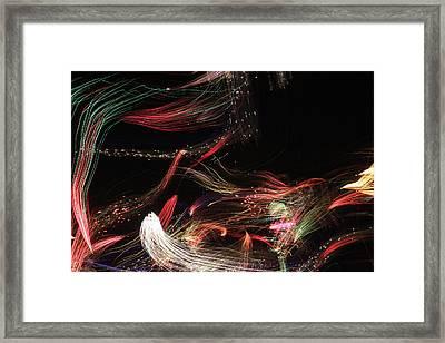 Ghosts Of Fireworks Past Framed Print by Jonathan Kotinek