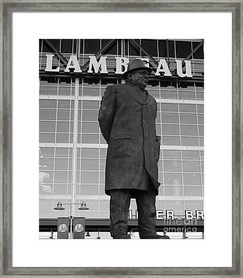 Ghosts Of Lambeau Framed Print