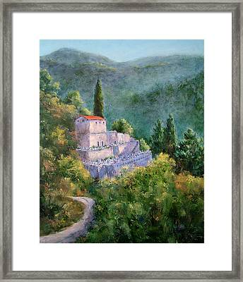 Ghosts Of The Peloponnese Framed Print by Jill Musser