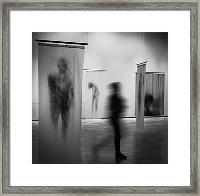 Ghosts Framed Print by Paco Palazon