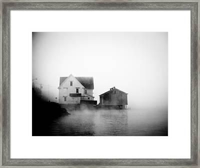 Ghosty Framed Print