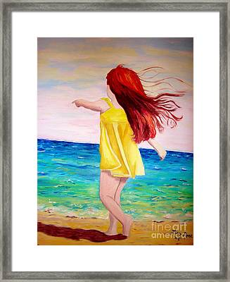 Giai Mother Earth Framed Print