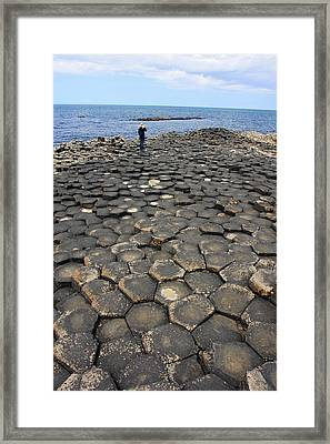 Giant Causeway Northern Ireland Framed Print by Pierre Leclerc Photography
