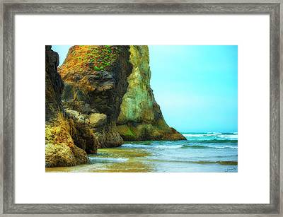 Giant Sentinels Framed Print