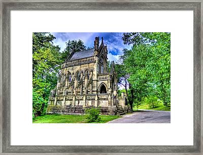Giant Spring Grove Mausoleum Framed Print