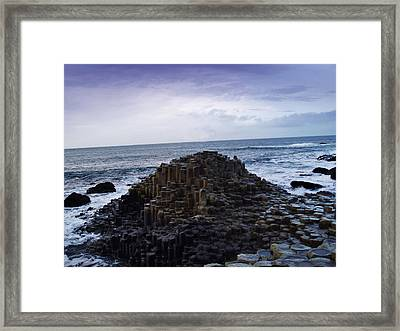 Giant's Causeway Framed Print by Pelo Blanco Photo