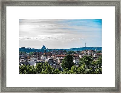Giardino Degli Aranci Framed Print by Joseph Yarbrough