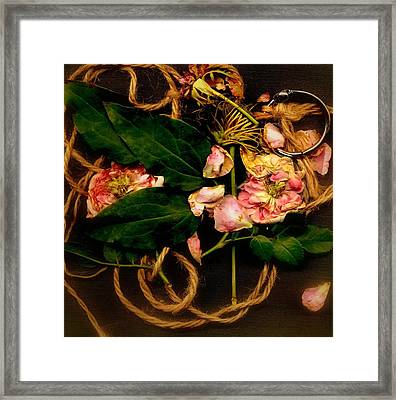 Framed Print featuring the photograph Giardino Romantico by Andrew Gillette