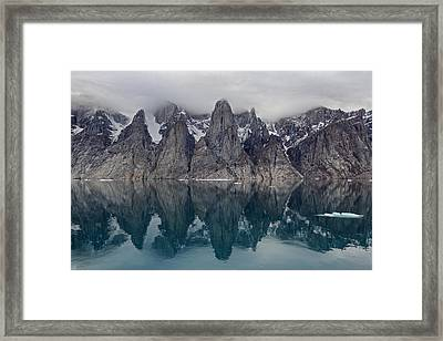 Gibbs Fiord Framed Print by Tony Beck